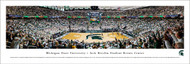 Michigan State University Panorama Print #7 (Basketball) - Unframed