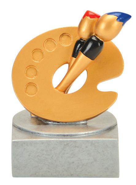 Art Color Tek Trophy | Artist Award | 4 Inch
