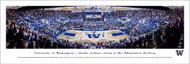 University of Washington Panorama Print #7 (Basketball) - Unframed