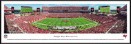 Tampa Bay Buccaneers Panoramic Print #2 (50 Yard) - Framed