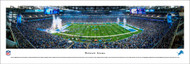Detroit Lions Panorama Print #2 (50 Yard) - Unframed