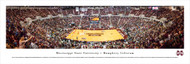 Mississippi State University Panorama Print #4 (Basketball) - Unframed