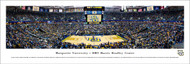 Marquette University Panorama Print #1 (Basketball) - Unframed