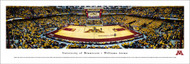 University of Minnesota Panorama Print #4 (Basketball) - Unframed