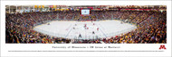 University of Minnesota Panorama Print #4 (Hockey) - Unframed