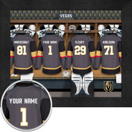 Vegas Golden Knights Locker Room Print - Personalized