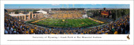 University of Wyoming Panorama Print #1 (50 Yard) - Unframed