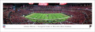 Atlanta Falcons Panorama Print #4 (50 Yard) - Unframed