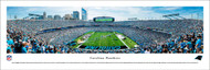 Carolina Panthers Panorama Print #4 (End Zone) - Unframed