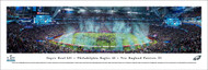 Super Bowl LII Panorama Print (2018) - Unframed