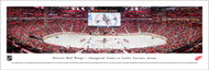 Detroit Red Wings Panorama Print #3 (Center Ice) - Unframed