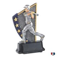 Baseball Color 5 Star Trophy / At Bat Award | 5.875 Inch - Clearance