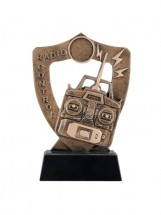 Radio Control Shield Trophy | Wireless Control Award | 6.75 Inch - Clearance