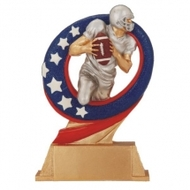 Football Superstar Trophy | Football Superstar Award | 6.5 Inch - Clearance