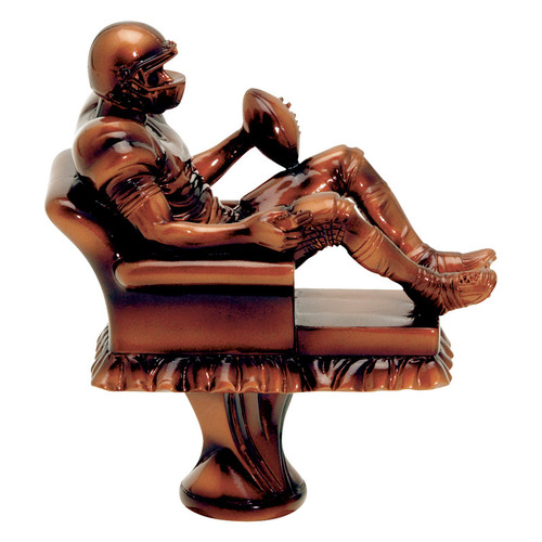 Football Fantasy Armchair Quarterback - TOPPER ONLY | 5.5 Inch Tall