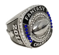 2018 FFL Champion Ring - SILVER / Silver Fantasy Football 2018 Championship Ring