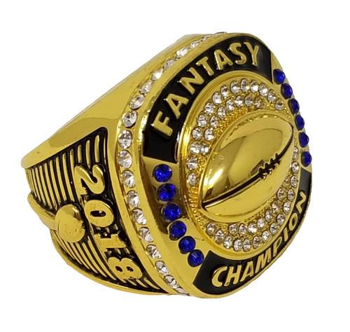 2018 FFL Champion Ring - GOLD / Gold Fantasy Football 2018 Championship Ring