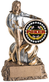 Poker Valkyrie Trophy / Female Poker Winner Award
