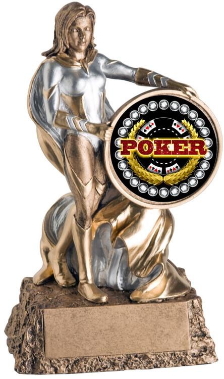 Poker Valkyrie Trophy / Female Poker Winner Award