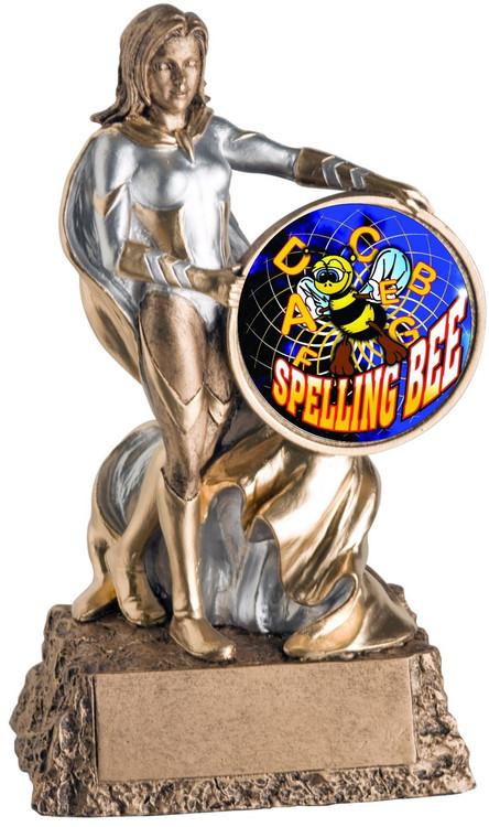 Valkyrie Spelling Bee Trophy / Female Spelling Award