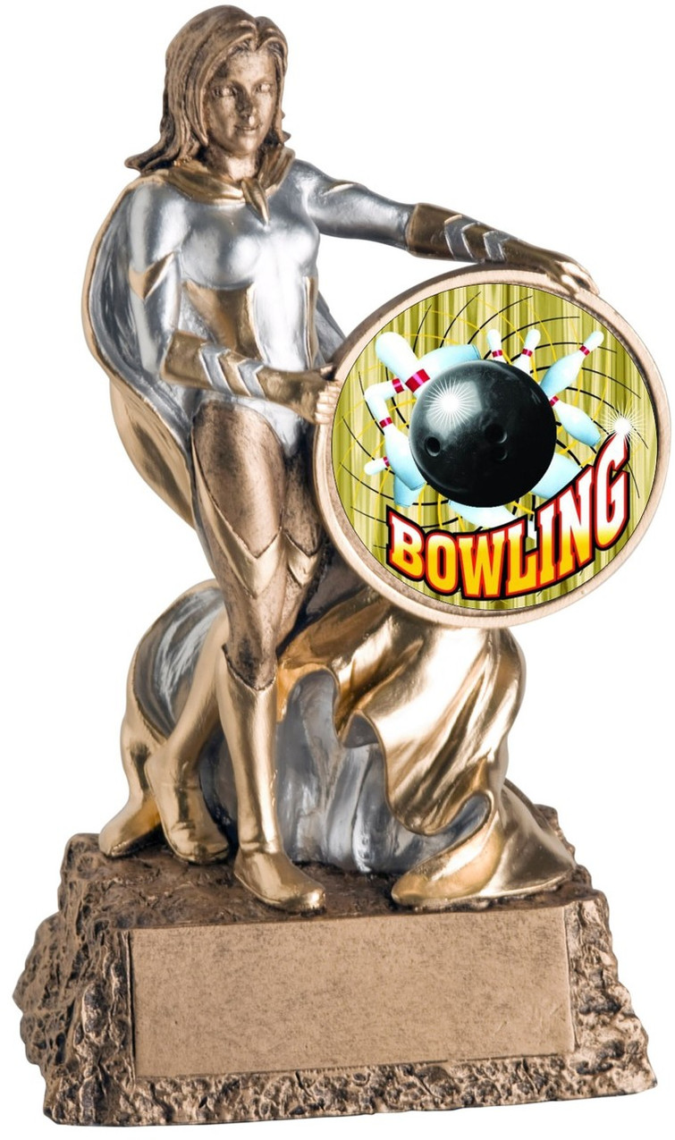 Bowling Star Trophy Awards 6 Gold High Average Bowling Trophies
