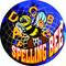 "Monster Spelling Bee Trophy / Beast Spelling Award - 6.75"""