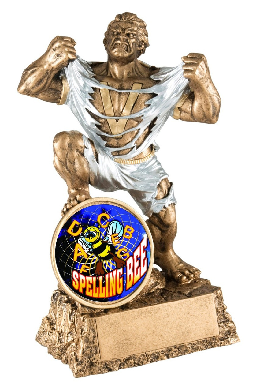 Monster Spelling Bee Trophy / Beast Spelling Award