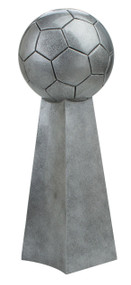Soccer Silver Tower Trophy | Fútbol League Championship Award | 14 Inch