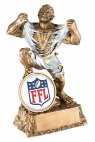 Fantasy Football Classic Shield Monster Trophy | FFL Beast Award | 6.75 Inch Tall