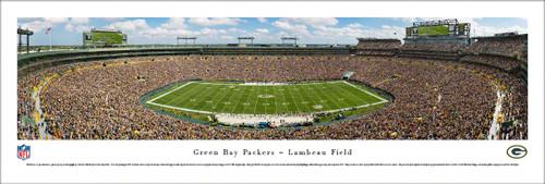 Green Bay Packers Panoramic  Print #5 (50 Yard) - Unframed