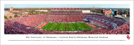 University of Oklahoma Panoramic  Print #8 (50 Yard) - Unframed
