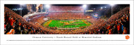 Clemson University Panorama Print #35 (50 Yard) - Unframed