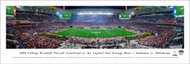 2018 Orange Bowl Panorama Print - Unframed