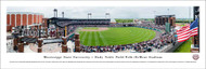 Mississippi State University Panorama Print #7 (Baseball) - Unframed