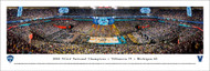 2018 NCAA National Championship Panorama Print (Basketball) - Unframed