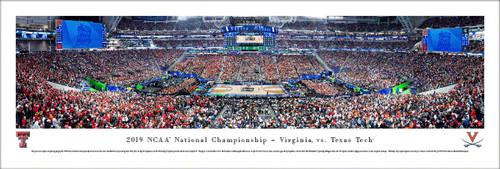 2019 NCAA National Championship Panorama Print (Basketball) - Unframed