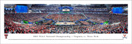 2019 NCAA National Championship Panorama Print (Basketball) - Unframed