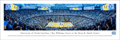 University of North Carolina Panorama Print #4 (Basketball) - Unframed