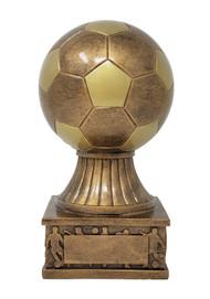 "Soccer Ball Tower Trophy ⚽ Gold Fútbol Award - 7.5"""