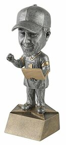 Fantasy Football Manager Bobblehead Trophy | FFL Commissioner Award - 6""