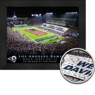 Los Angeles Rams Stadium Print - Personalized