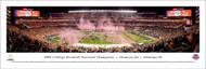 2018 CFP Championship Panorama Print - Unframed