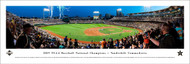 2019 College World Series Panoramic Print - Unframed