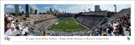 Georgia Tech Panorama Print #2 (End Zone) - Unframed