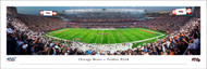 Chicago Bears Panorama Print #5 (50 Yard - Night) - Unframed