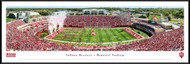 Indiana University Panorama Print #5 (50 Yard) - Framed