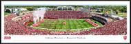 Indiana University Panorama Print #5 (50 Yard) - Framed