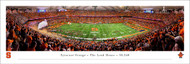 Syracuse University Panoramic Print #4 (50 Yard) - Unframed