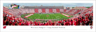 University of Wisconsin Panorama Print #8 (50 Yard) - Unframed