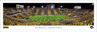 University of Iowa Panoramic Print #7 (50 Yard) - Unframed